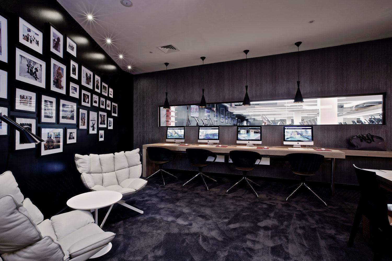 Virgin Active Walkbrook lounge