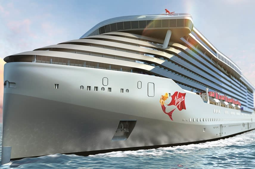 Virgin Voyages' first ship, Scarlet Lady
