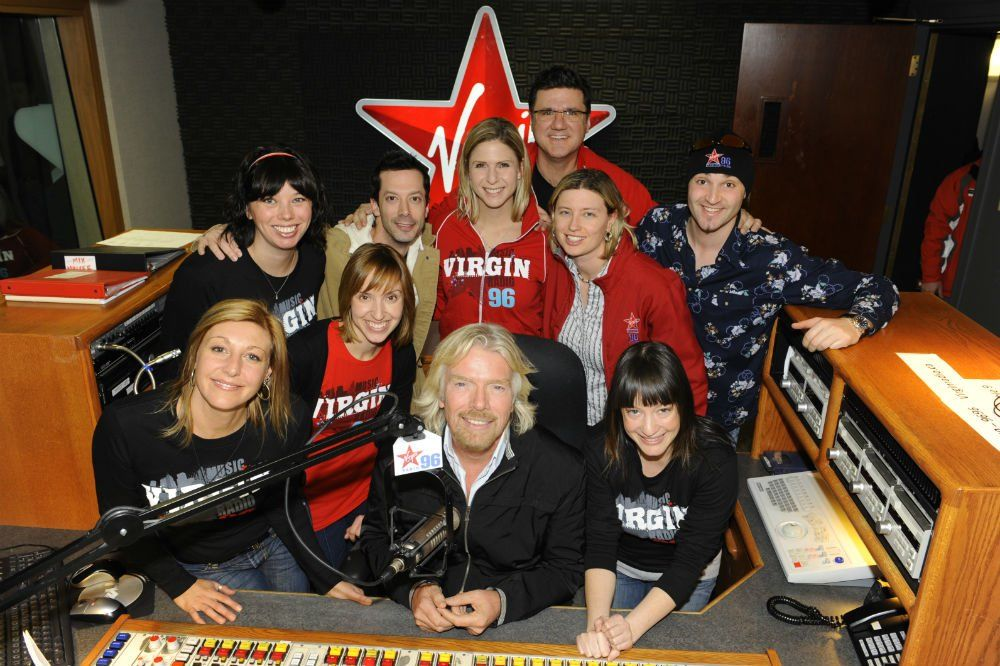 Virgin Mobile Launch with Richard Branson