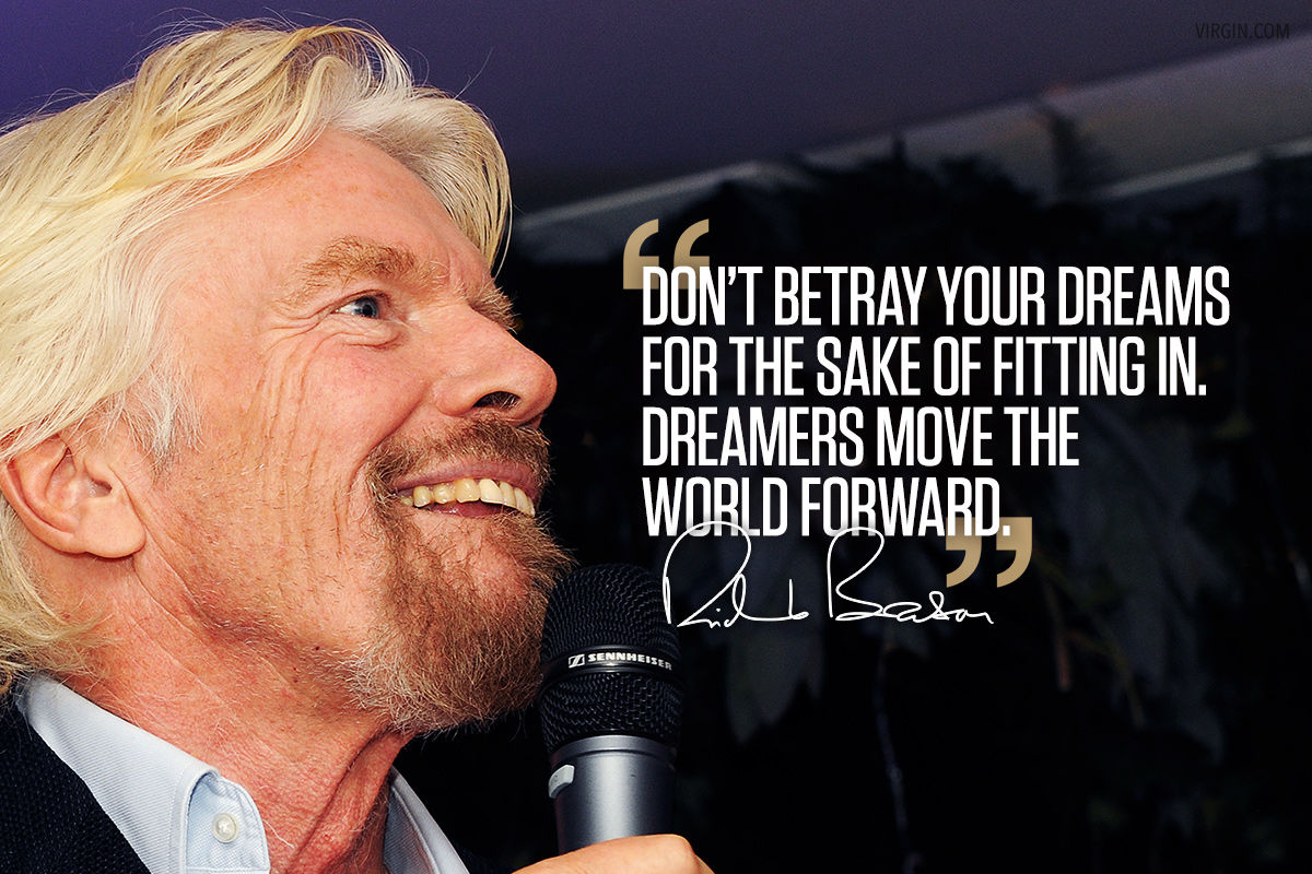 Richard Branson photoquote dreams