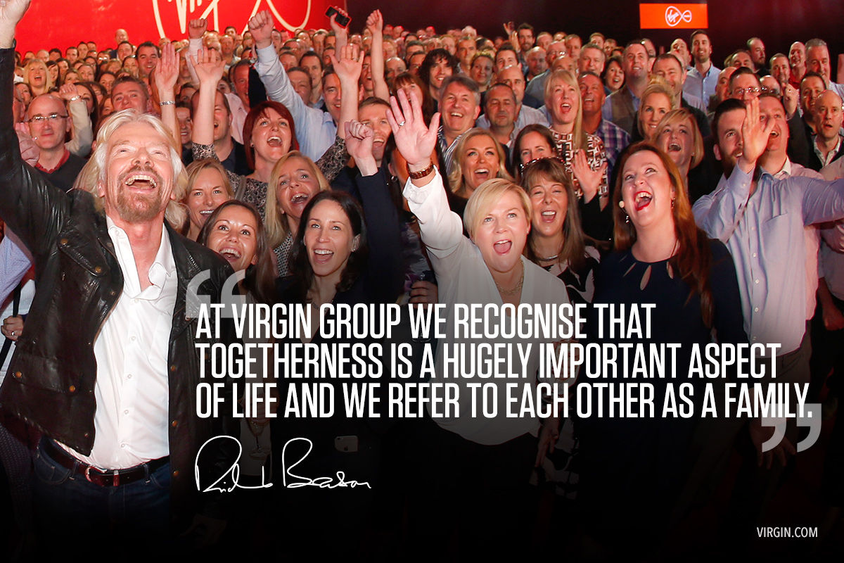 Richard Branson photoquote about family