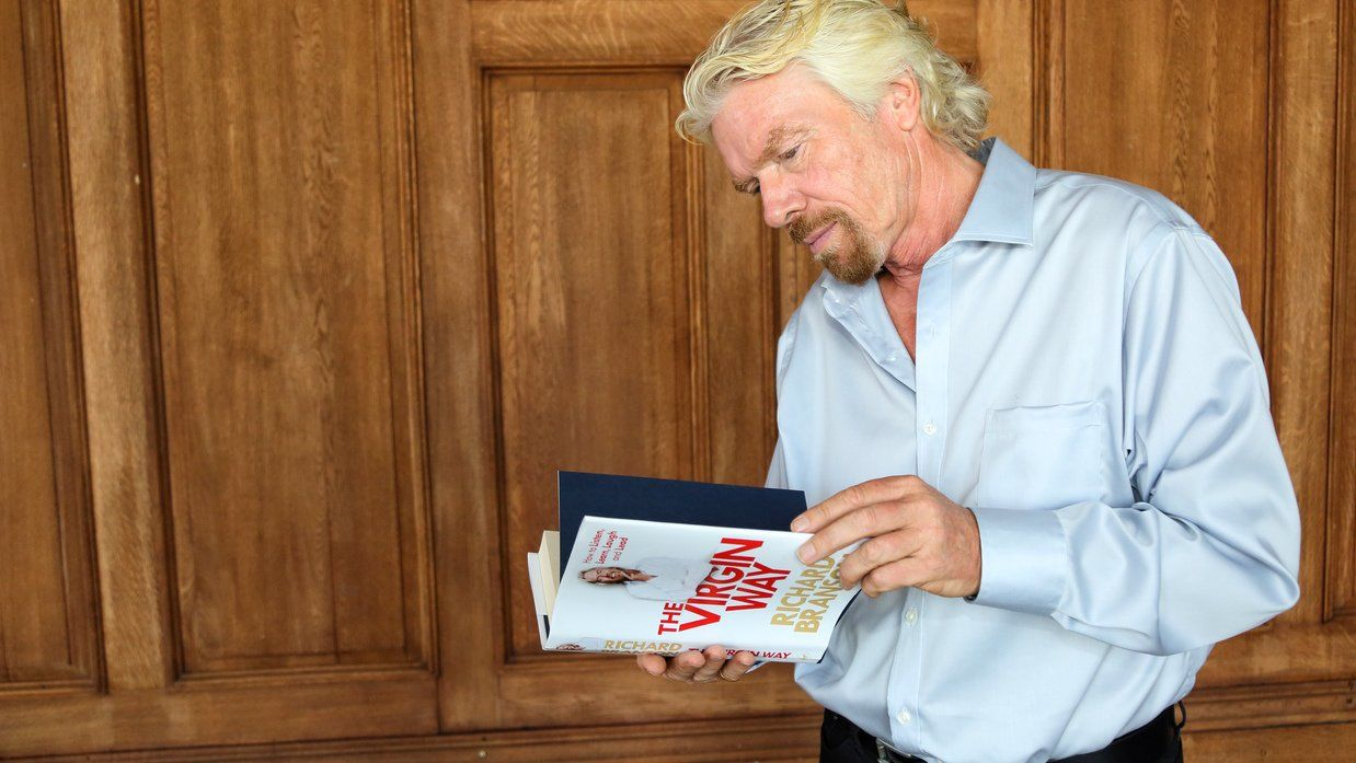 Richard Branson of Virgin Group