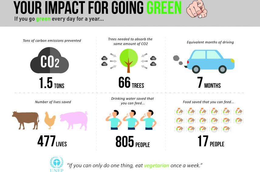 Roberta riga virgin for Facts about going green