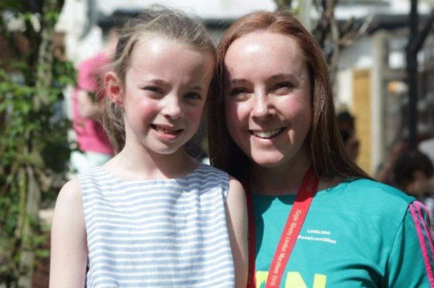 Shannon Foudy, millionth finisher of the Virgin Money London Marathon