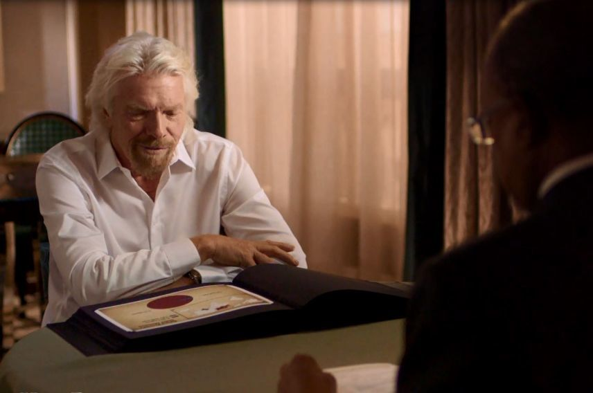 Richard Branson Finding Your Roots
