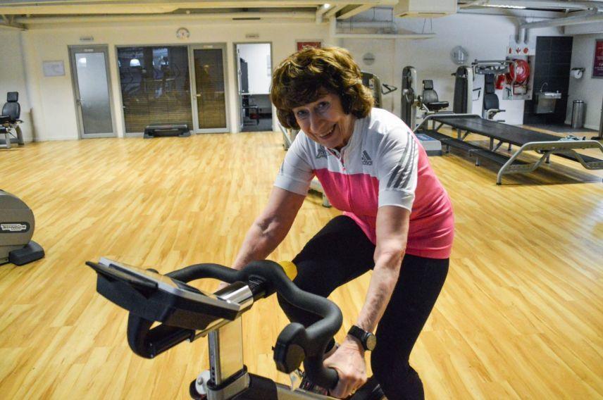 Clare Graaff Virgin Active SA member