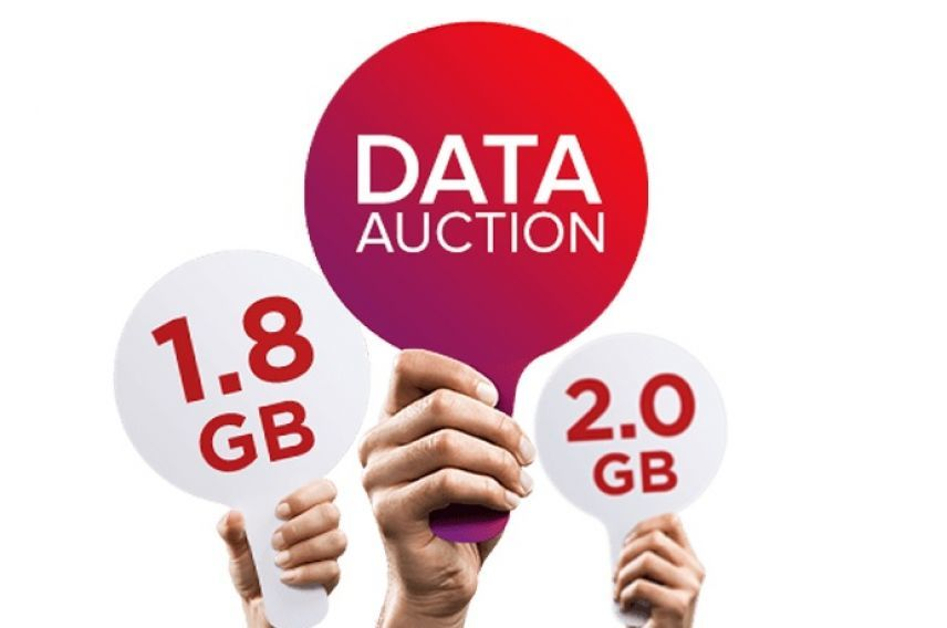 Virgin Mobile Australia data auction