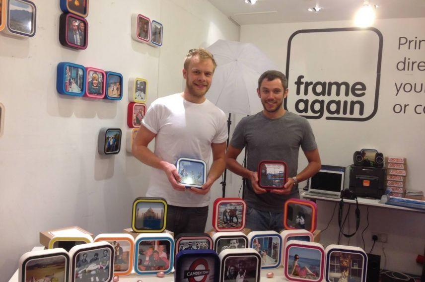 Frame Again founders