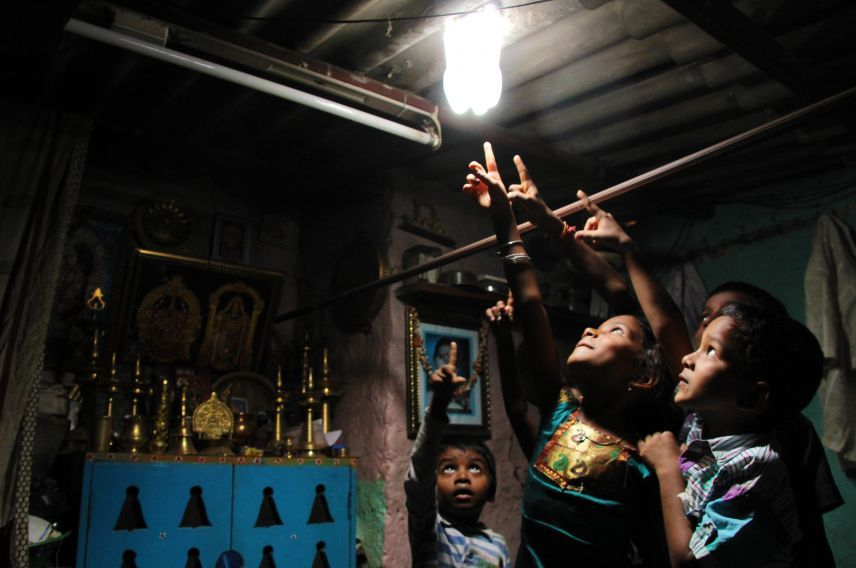 Virgin Unite, Ashoka, Liter of light