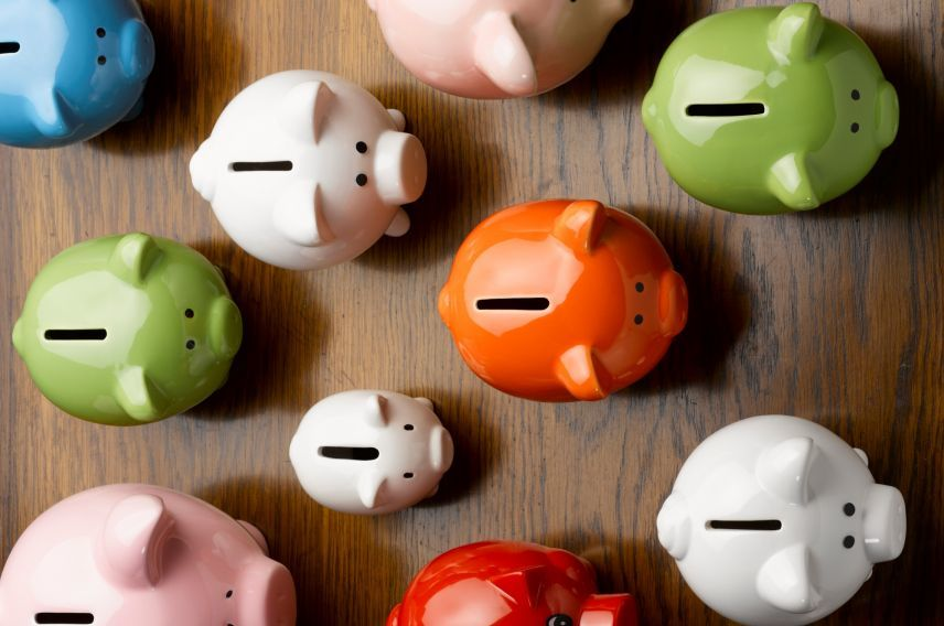 Piggy banks getty