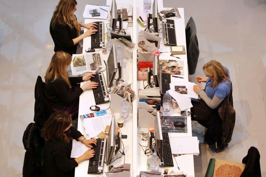 Desk getty