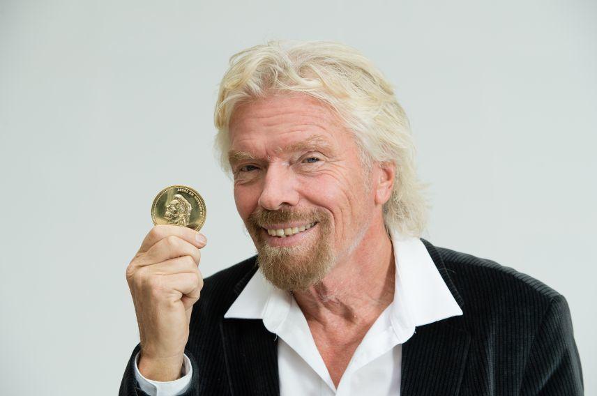 Richard Branson Virgin Red pirate