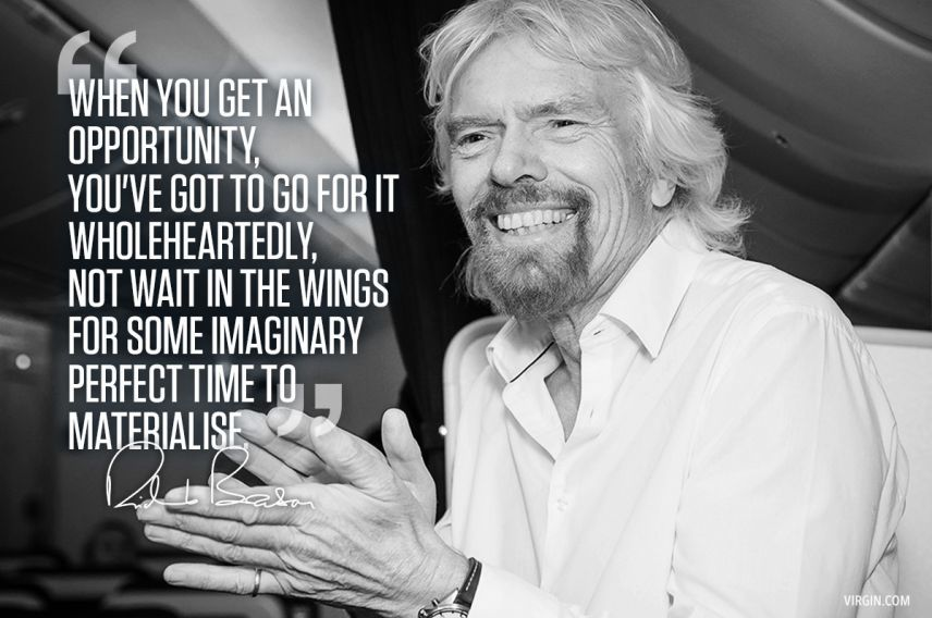 Richard Branson photoquote