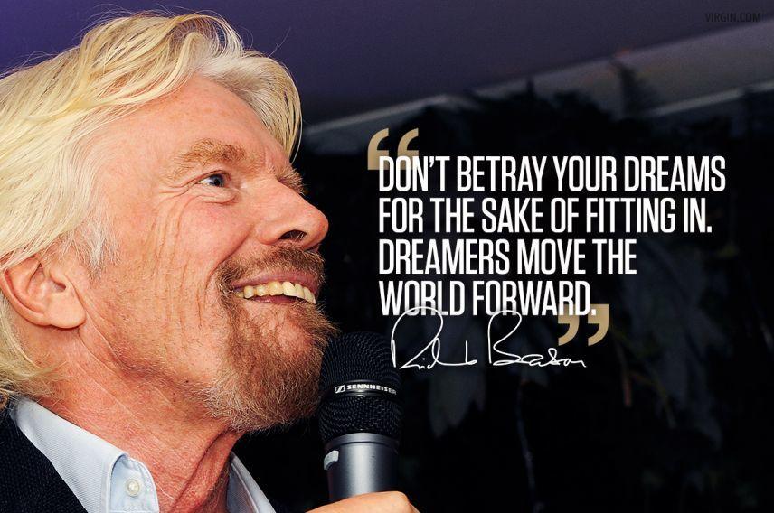 Richard Branson photoquote dreams