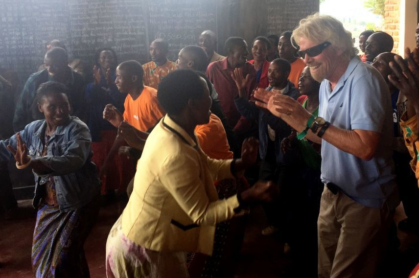 richard branson one acre fund