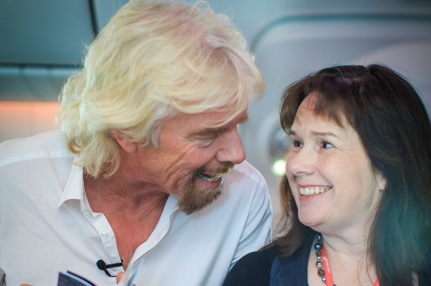 Richard Branson Virgin Atlantic Virgin StartUp