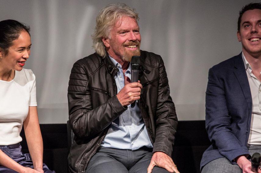 VMB VOOM 2016 launch event Richard Branson