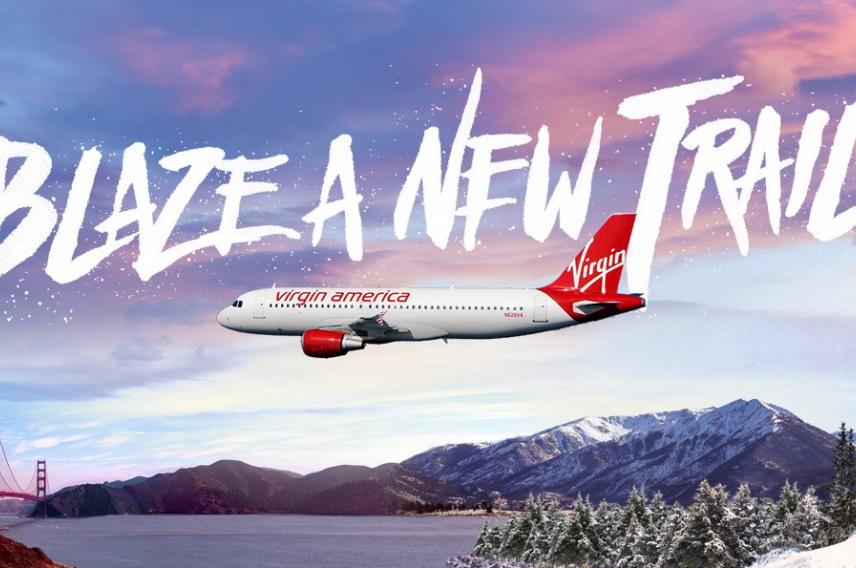 Virgin America Blaze a New Trail