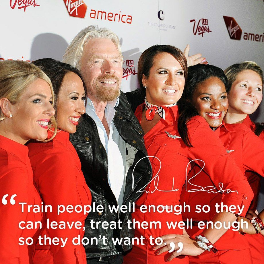 Image result for richard branson quotes employees