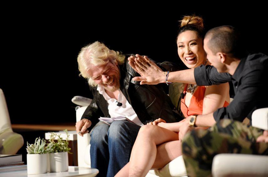 Richard Branson on Business is an adventure panel