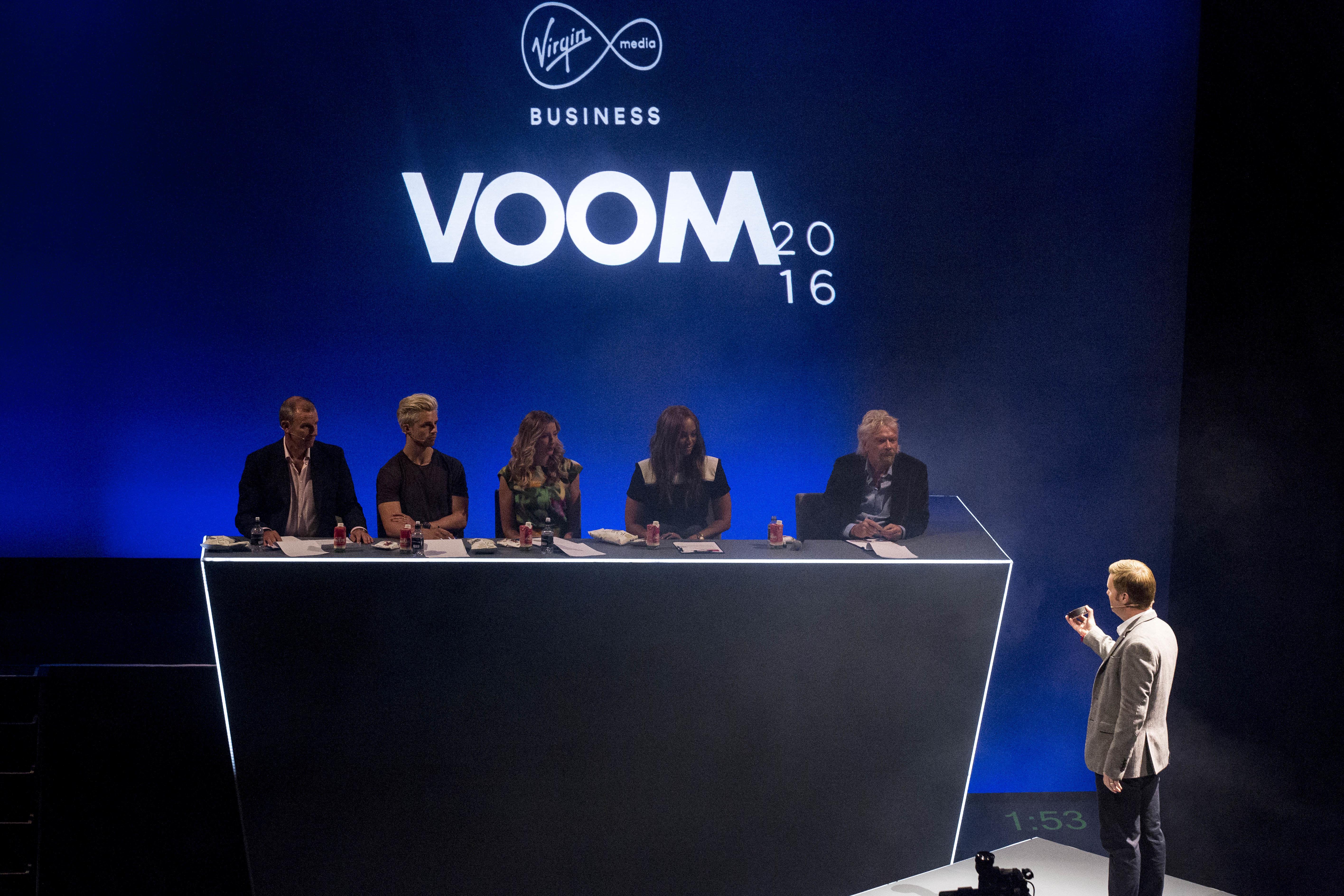 VOOM judging panel