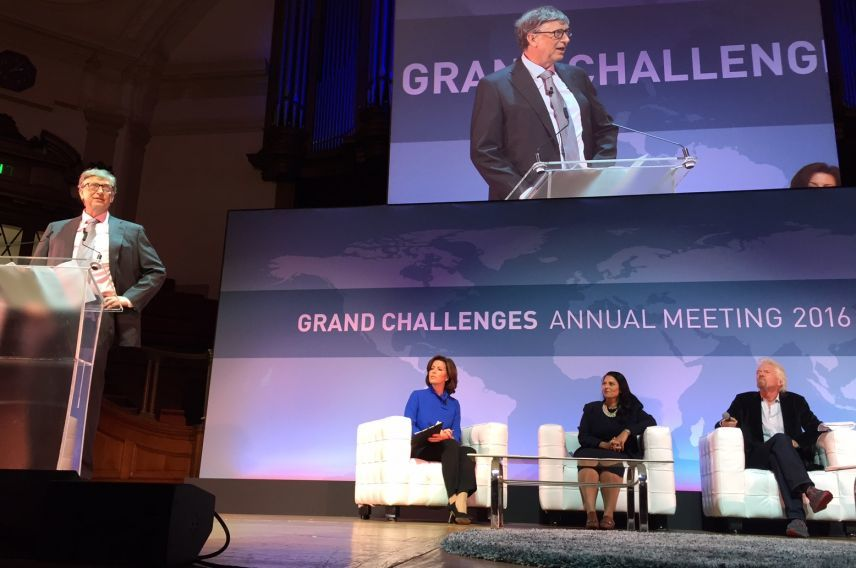 Virgin Unite, Bill Gates, Grand Challenges
