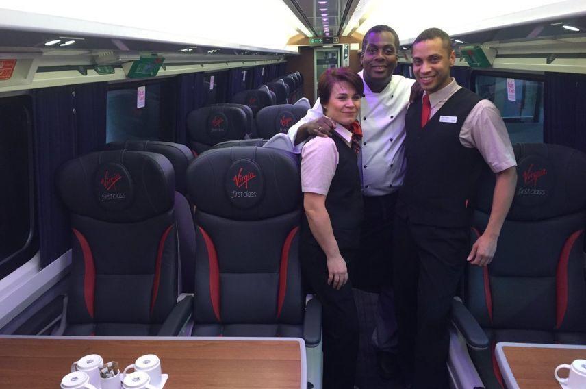 Virgin Trains East Coast inside