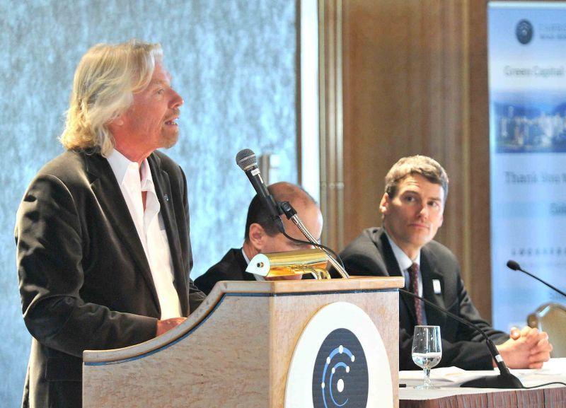 richard branson speaking event from carbon war room