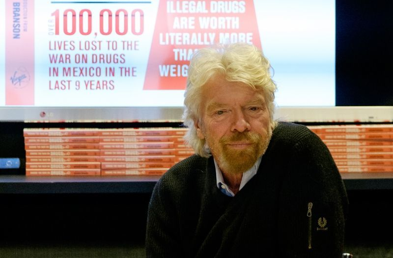 Richard Branson Ending The War on Drugs