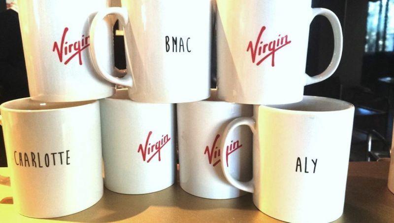 Virgin mugs