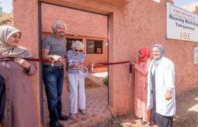 Eve Branson, centre openings 2016, weaving