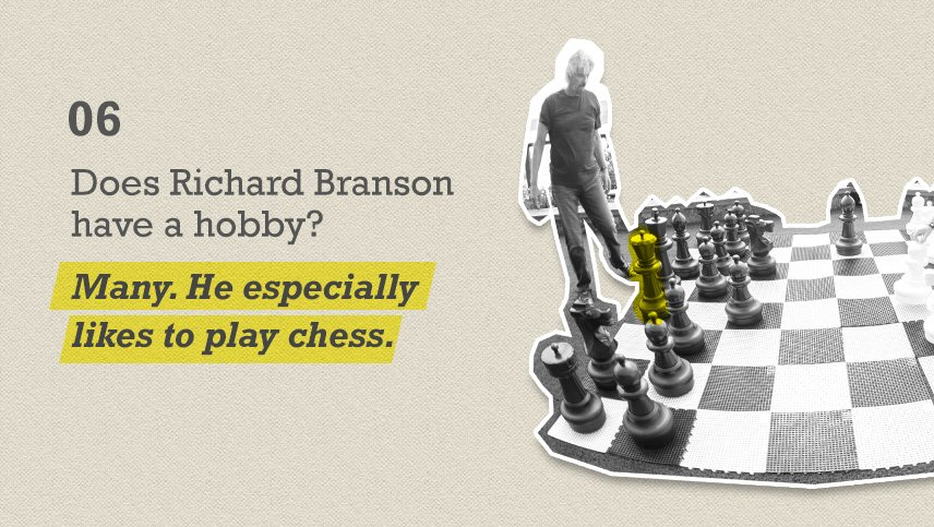 65 things you've always wanted to know about Richard Branson