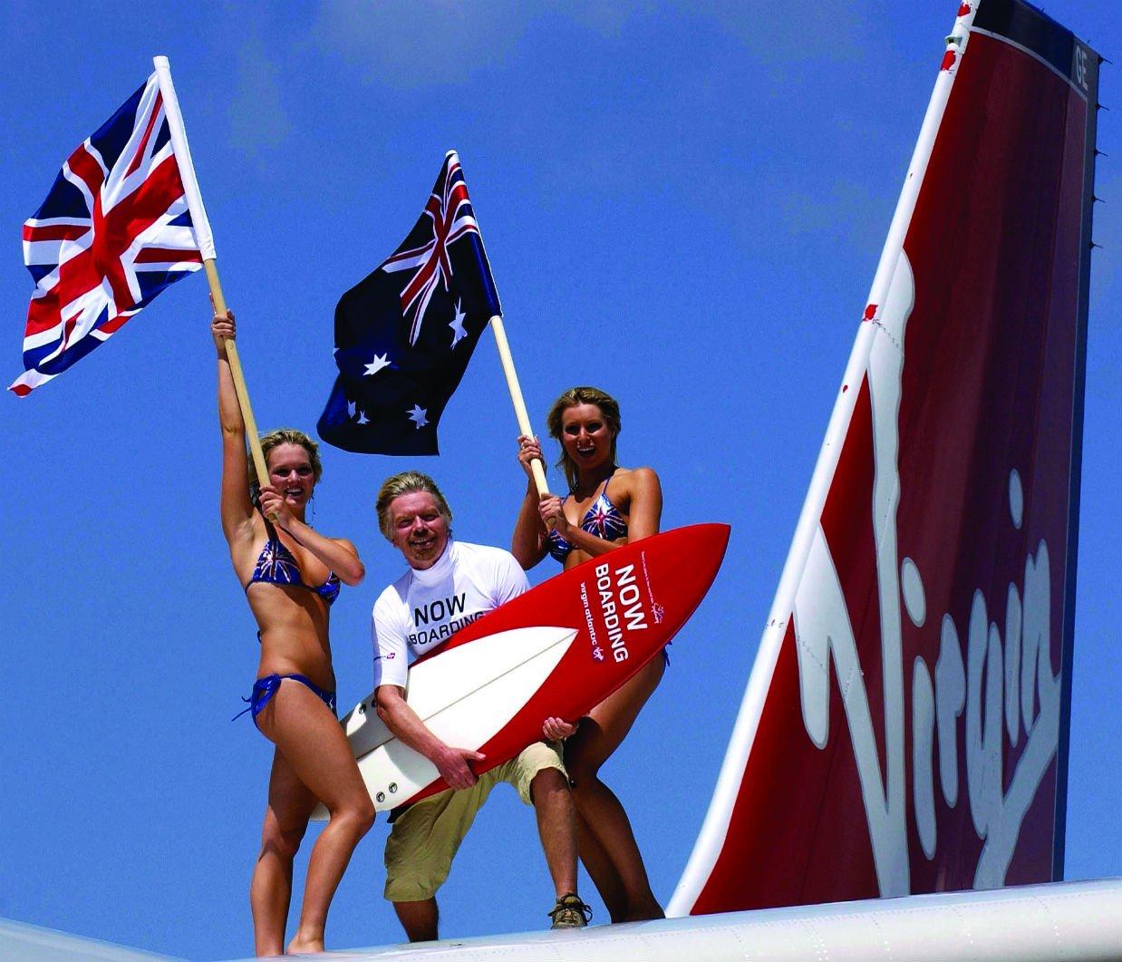 Virgin Atlantic launches Hong Kong to Sydney