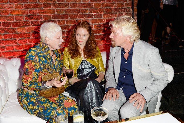 Viv, Lily Cole and I