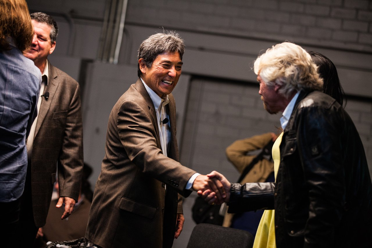 Handshake with Guy Kawasaki