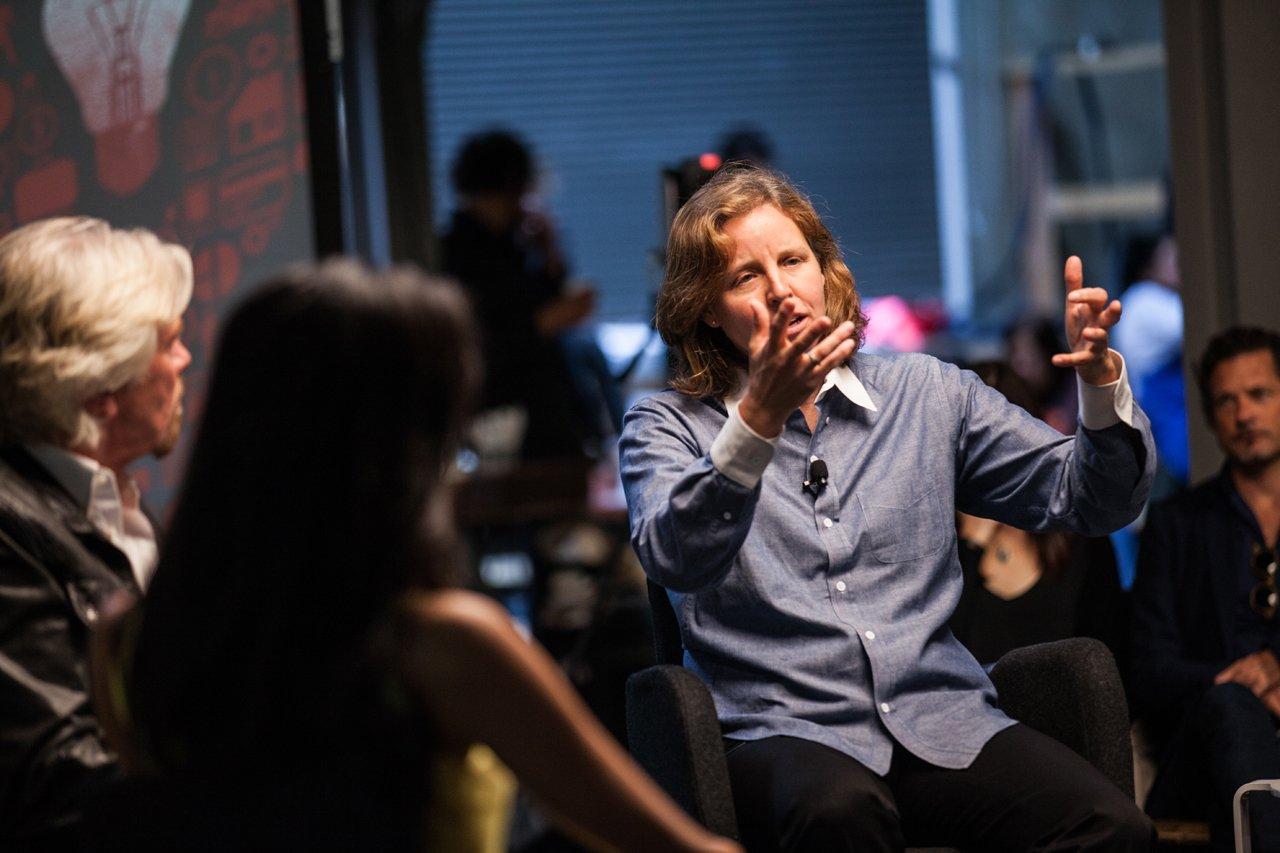 Megan Smith talks about moonshots at Virgin Disruptors