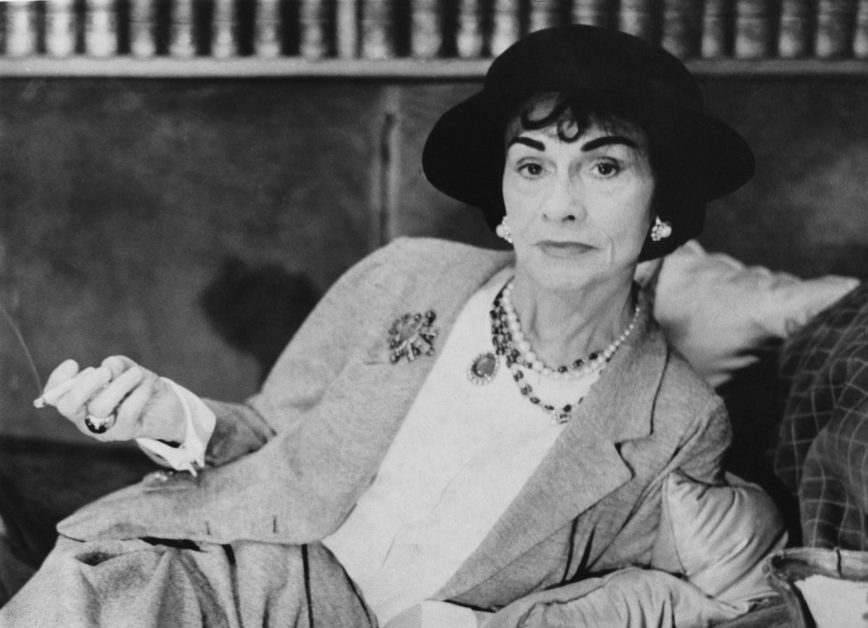 c3a4d8692ddc2e Coco Chanel, whose birth name is Gabrielle Bonheur Chanel, was an iconic  French businesswoman and fashion designer famed for redefining the feminine  ...