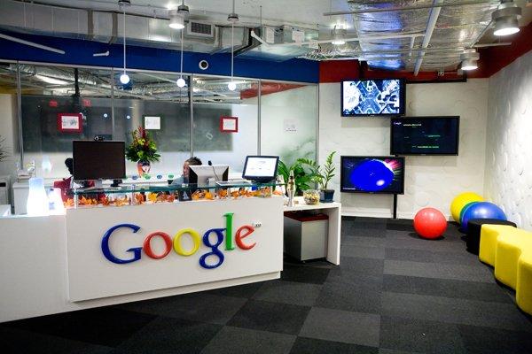 google office desk. Image From Gettyimages Google Office Desk L