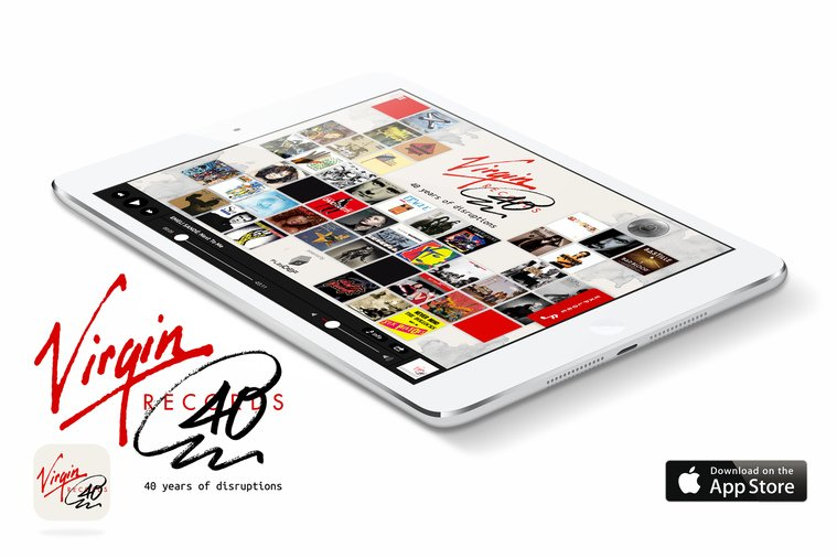 Virgin Records: 40 years of disruptions – free official app | Virgin