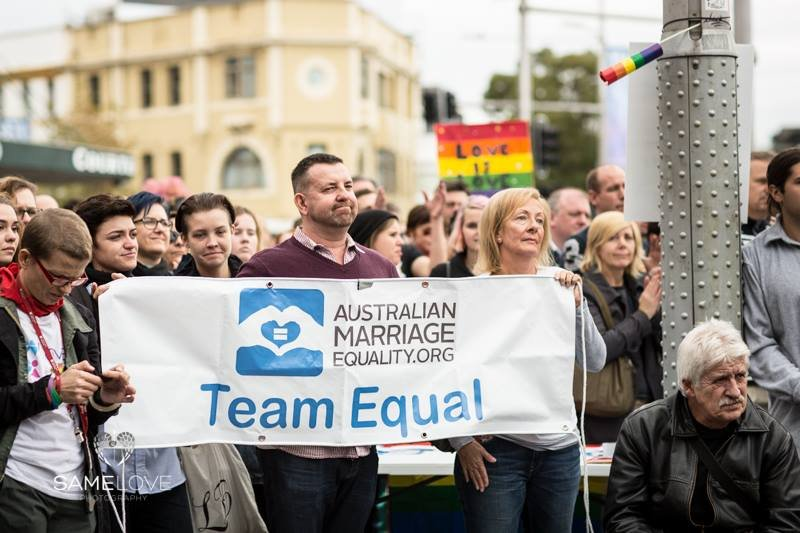 Image from Australian Marriage Equality
