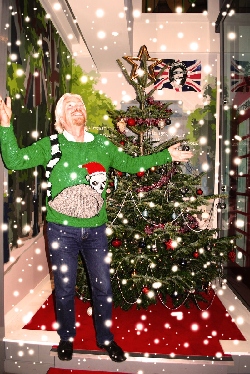 not one to be outdone richard branson then came to us with this tale of christmas woe one easter holiday i decided to follow my mothers example and make