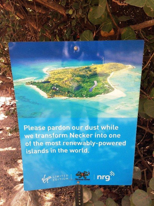 Necker Island Goes Solar Virgin
