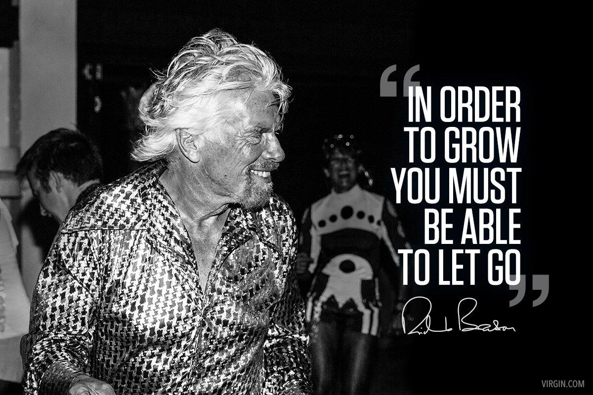 Let Go To Grow Virgin