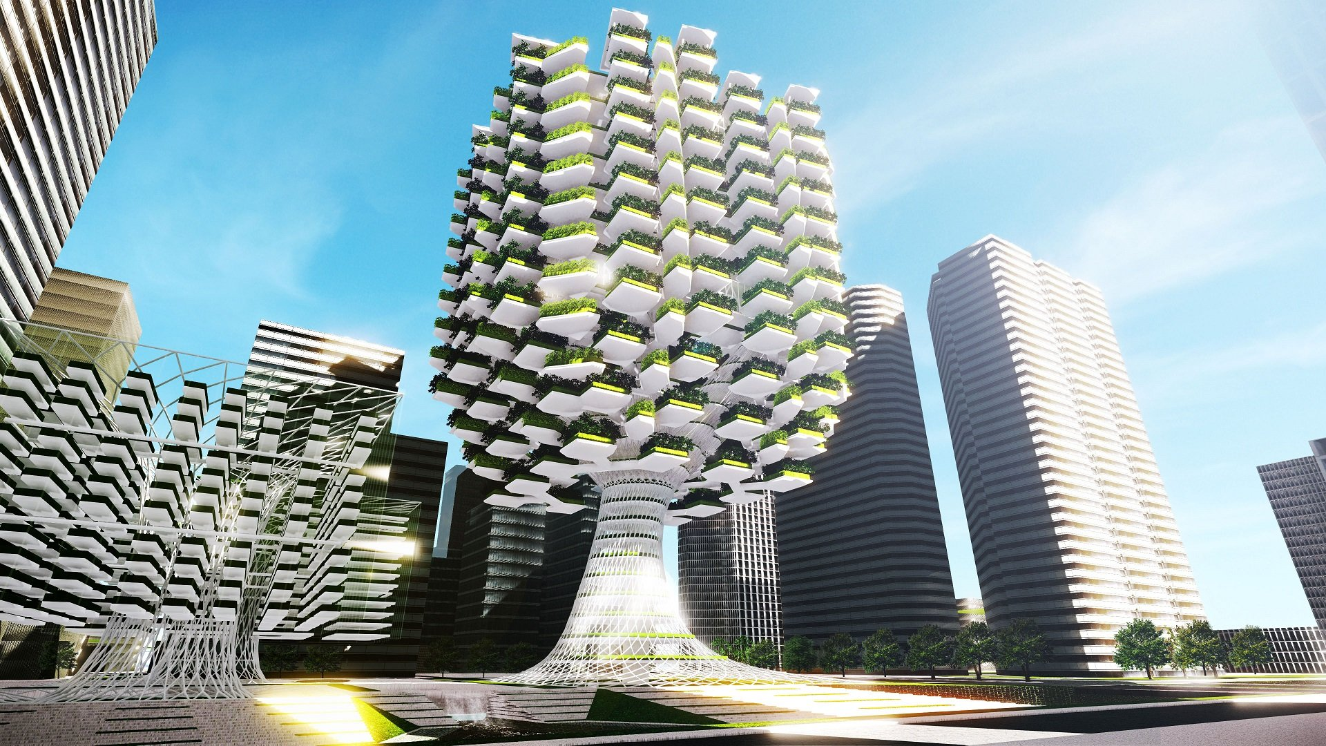 Green Streets How Plantlife Is Inspiring Modern Architecture Virgin