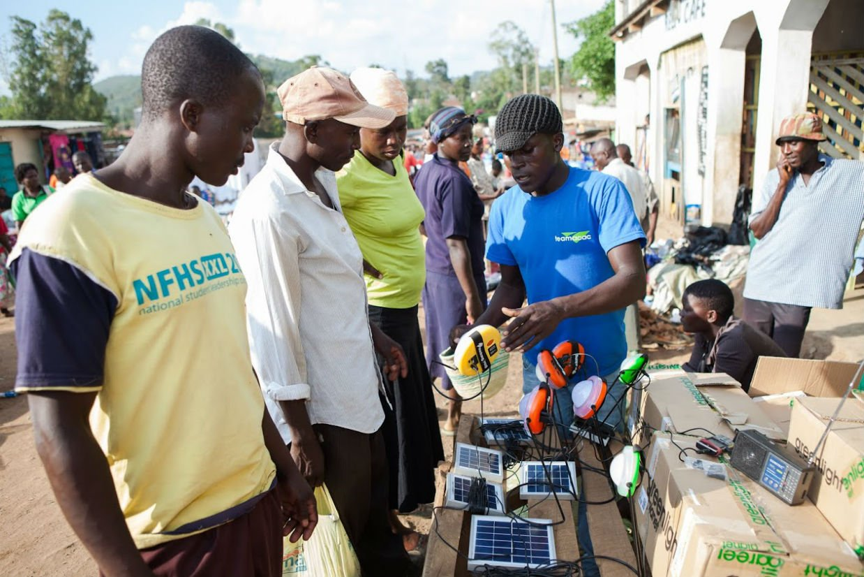 Off-Grid Solar Products Go To Market In Africa