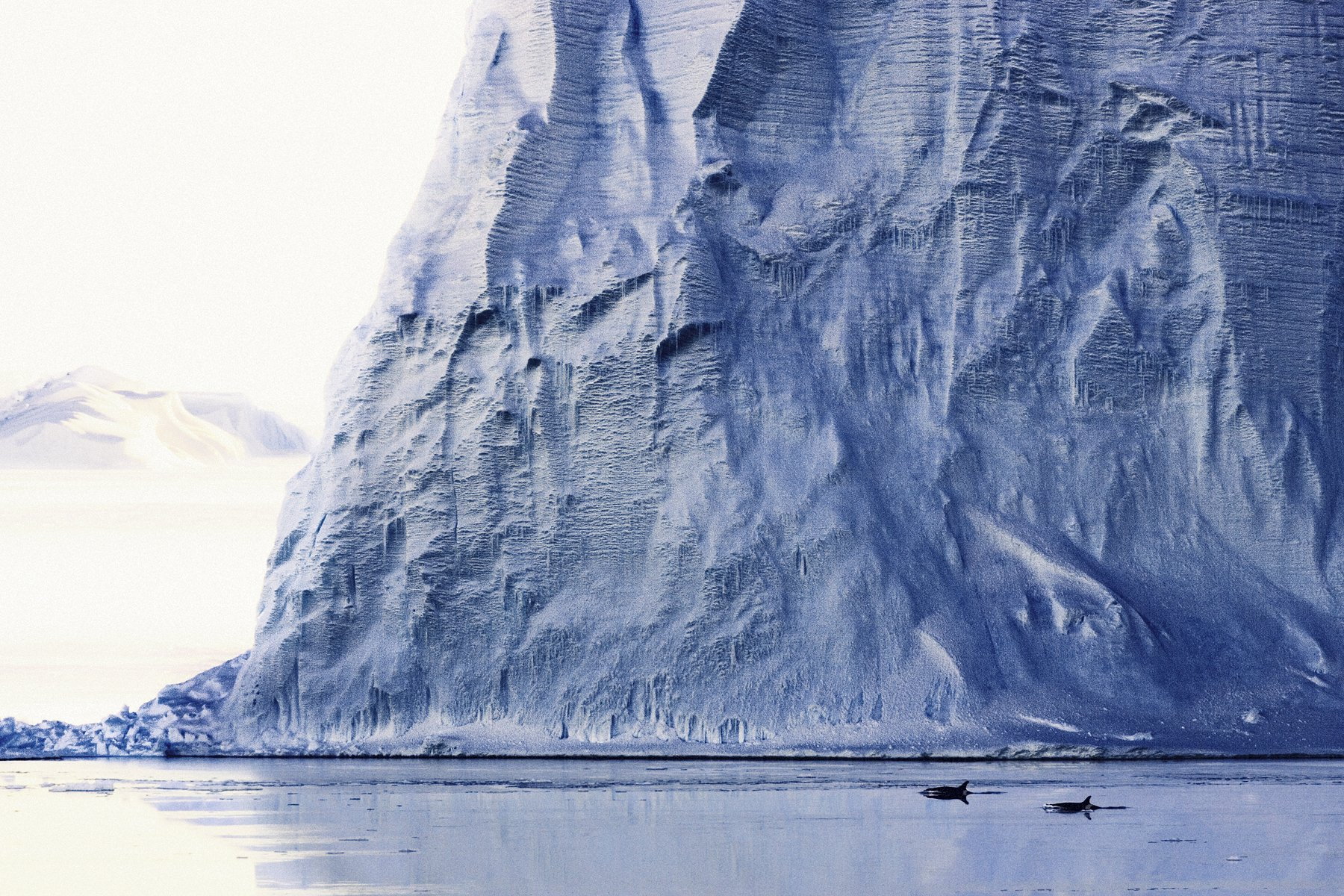 Ross Sea ice shelf wall at the end of the world_Credit John Weller