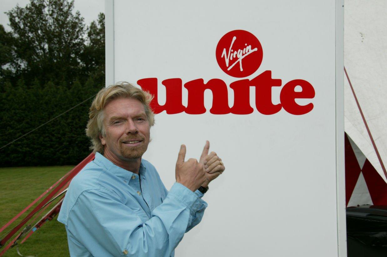 Richard Branson launches Virgin Unite