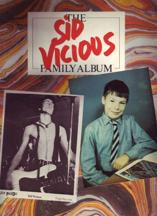 The Sid Vicious Fmaily Album from Virgin Books