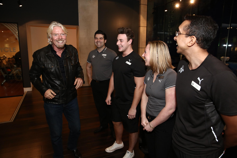 Richard Branson Virgin Active