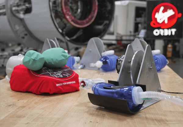 Virgin Orbit CoVid-19 ventilator prototype